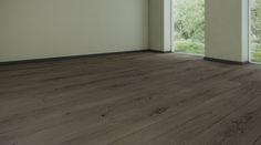 Podłoga drewniana, dąb olej czarny. Realizacja BKD Home.