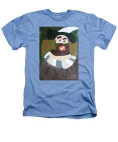 Patrick Francis Heathers T-Shirt featuring the painting Rembrandt 2014 - After Rembrandt Self-portrait by Patrick Francis