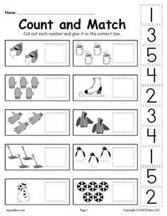 Cut and Paste Worksheets Kindergarten. 20 Cut and Paste Worksheets Kindergarten. Free Printable Cut and Paste Worksheet for Kindergarten Pre K Worksheets, Sequencing Worksheets, Cut And Paste Worksheets, Printable Preschool Worksheets, Free Preschool, Counting Worksheet, Preschool Winter, Cutting Activities, Preschool Activities
