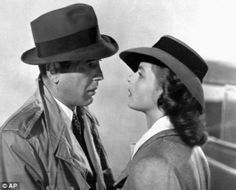Macho: Bogart and Ingrid Bergman in Casablanca (1943). Bogie had bedded an estimated 1,000 women including Bette Davis, Jean Harlow, Marlene Dietrich and Ingrid Bergman - but still feared he might be gay. dailymail.co.uk