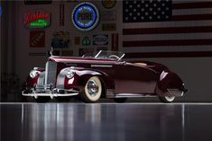 "1941 PACKARD D'AGOSTINO CUSTOM ""GABLE"" - Barrett-Jackson Auction Company Ron Pratte collection, Scottsdale Jan '15"
