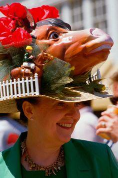 13 delightfully crazy Kentucky Derby hats - Yahoo! News