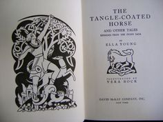 The Tangle-Coated Horse, written by Ella Young; illustrated by Vera Bock - Google Image Result for http://downtownbooksonline.com/images/janae/20081010TangleCoatedHorse_03.jpg