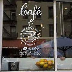 windows decals coffee