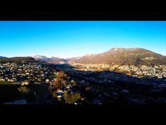 Flight of my DJI over Porza (Ticino-Switzerland) Zentangle, Ireland, Castle, Ocean, Watch, Flowers, Youtube, Books, Travel