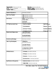 Lesson plan template microsoft word version microsoft for Lfs lesson plan template