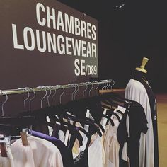 LIVE FROM THE SALON INTERNATIONAL LINGERIE PARIS JAN16 BOOTH D89 #chambreslifestyle #chambres #cleomaxidress #graceful #seasonless #lingerie #soft #silky