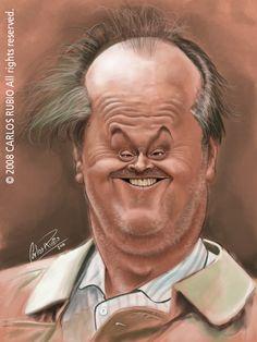 Jack Nicholson Sketch by CarlosRubio.deviantart.com on @deviantART