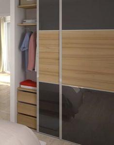 Plan maison moderne Bleuet - maison familiale Maisons Clair Logis Architecture, Bunk Beds, Divider, How To Plan, Patio, Room, Plans, Furniture, Home Decor
