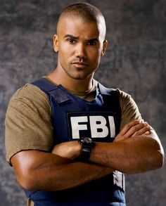 He is so hot!...Love Shemar Moore!  Also Criminal Minds is one of my fav shows...