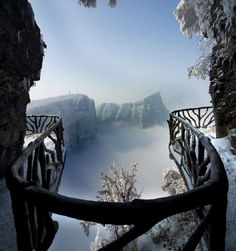 Tianmen Mountain i Kina
