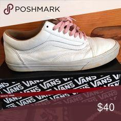 Vans x J. Crew collab Tan Leather Vans x J Crew  lows Vans Shoes Sneakers