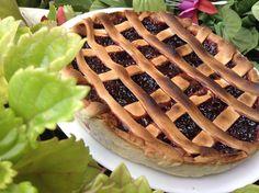 Tarta de cerezas vegana (cherry pie)