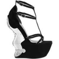 Armour Wedge Sandal - Polyvore