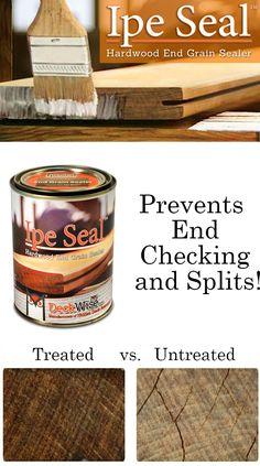 Ipe Seal 1 Quart Covers Rox 500 Sq Ft Is A Wax Emulsion