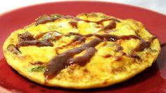 Inspired By eRecipeCards: BBQ Pulled Pork Fritatta or Week 17 of What I had for Dinner Last Night Fritatta