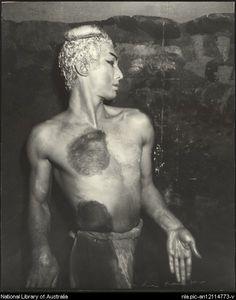 Dupain, Max - David Lichine in L'Apres-midi d'un faune, Original Ballet Russe, 1940