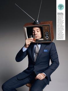 Jimmy Fallon in the March digital issue of Men's Health. Photos by Peter Yang. There are actually couple other pages.