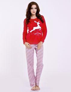 Idealna piżama na zimę, ciepła, wygodna i z Reniferem, Dobranocka