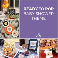She's Ready To Pop! Baby Shower Theme Idea
