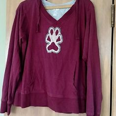 Cute Hoodie This hoodie is light weight and comfortable. It had been gently used and there is some fading and dark spot staining as shown. Still plenty of life in it! pro player Tops Sweatshirts & Hoodies