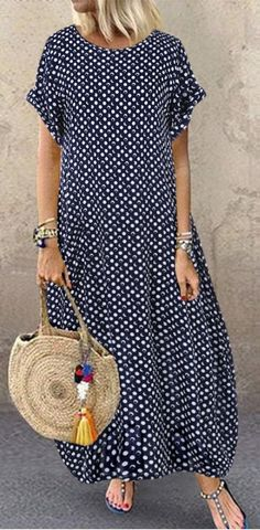 Womens Dresses Summer ILUCI Vintage Dresses for Women Ruffle Polka Dot Casual Half Sleeve Short Dress