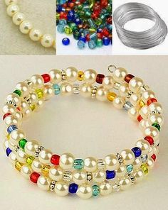 Nice bracelet~~~http://lc.pandahall.com/craft-ideas/2741.html