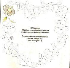 Afbeeldingsresultaat voor borduren op kaarten patronen gratis