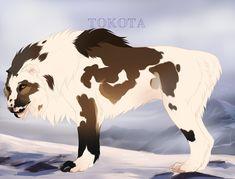 Registered Name:Roanoke Nickname(s):Ro, Nookie ID Number:31929 Owner:PandaSyrup Species:Tokotas Breed:Canarctos dirus[25%] Gender:Female Mane T...