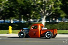 Rat Rod truck... flying low