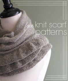 13 Free Knit Scarf Patterns | AllFreeKnitting.com