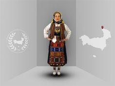 Thrace, Petrota (Evros), traditional costume -Thracian culture club Stuttgart- www. Greek Traditional Dress, Traditional Outfits, Culture Club, Folk Dance, Folk Costume, Greek Costumes, Greece, Austria, Switzerland
