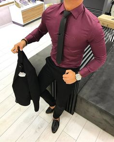 homecoming outfits for guys # Formal Men Outfit, Formal Dresses For Men, Formal Outfits For Guys, Men's Formal Wear, Best Business Casual Outfits, Business Outfit, Mens Fashion Suits, Mens Suits, Homecoming Outfits For Guys