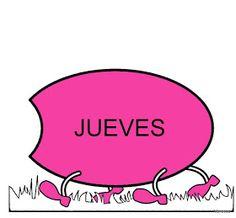 Infantil al aula: Días de la semana Days Of Week, Spanish, It Cast, School, Chocolate, Poster, Alphabet, Activities For 2 Year Olds, Letter Activities