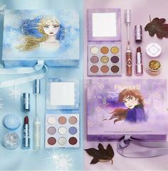 Disney and ColourPop are back with another epic collaboration. Get the entire Frozen II PR Collection that includes Anna and Elsa's 2 complete collections in one! This item is limited edition. Frozen Toys, Disney Frozen 2, Colour Pop, Frozen Makeup, Makeup Kit For Kids, Kids Makeup, Makeup Ideas, Fixing Spray, Bath Body Works