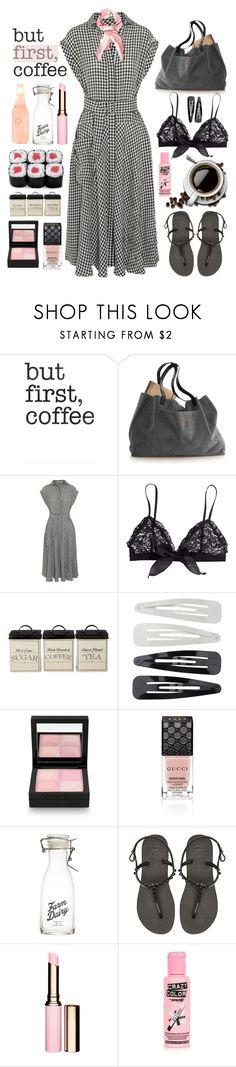 """26.05.16"" by malenafashion27 ❤ liked on Polyvore featuring Retrò, Bottega Veneta, H&M, Forever 21, Givenchy, Gucci, Havaianas, Clarins and River Island"