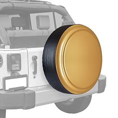 "Jeep Wrangler (Jk) - 32"" Color Matched Rigid Tire Cover (Plastic Face & Vinyl Band) - Dune, 2015 Amazon Top Rated Tire Accessories & Parts #AutomotivePartsandAccessories"