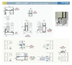 Línea U-Light Perfiletto ®| Catálogo Virtual Perfiletto