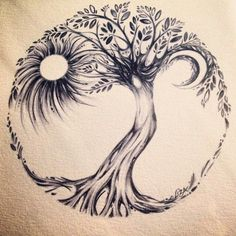 Tree Of Life Tattoo – Picture Ideas Tree Of Life Tattoo – Über 300 Bildideen This image has get. Side Tattoos, Trendy Tattoos, Body Art Tattoos, New Tattoos, Tattoos For Guys, Cool Tattoos, Tree Of Life Tattoos, Tree Tattoo Side, Celtic Tree Tattoos