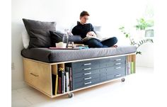 Carnet Imaginaire : built by Fugitive Glue in Toronto: Flat files and guest bed! built by Fugitive Glue in Toronto: Flat files and guest bed! built by Fugitive Glue in Toronto: Flat files and guest bed!