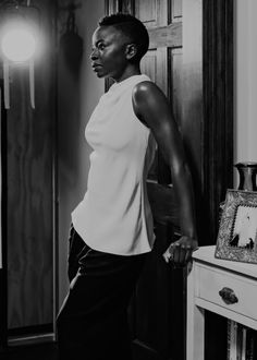 Danai Gurira photographed by Geordie Wood for The New Yorker