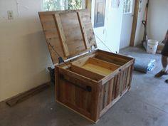 old barn wood ideas | Barn wood tack box - by woodsmith1 @ LumberJocks.com ~ woodworking ...