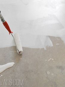 Vintage Revivals |   How To Paint Concrete UPDATED!! (Plus My Secret Cleaning Tip!)