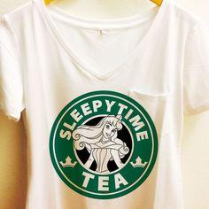 Sleeping Beauty Pocket Shirt   Starbucks Disney