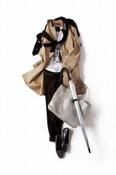 コーディネート詳細(カトリーヌ・ドヌーヴのような、雨の日を楽しむためのスタイル。)| Kyoko Kikuchi's Closet|菊池京子のクローゼット