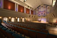 Spivey Hall at Clayton State University seats 400 audience members. http://www.spiveyhall.org #classical #jazz #georgia #atlanta #organ