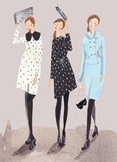 Orla Kiely illustration by Emma Block