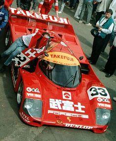 1990 Porsche 962 C Porsche (4.191 cc.) (T) Hurley Haywood Wayne Taylor Rickard Rydell
