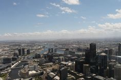Searching for things to see or don't know what to do in the city? The observation tower of Melbourne is one of the best public vantage points. Melbourne Weather, Things To Do, Good Things, San Francisco Skyline, Tower, City, Travel, Things To Doodle, Voyage