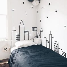 Ideas-And-Remodel/ diy washi tape wall art, washi tape dorm, washi tape College Bedroom Decor, Diy Wall Decor For Bedroom, Bedroom Art, Bedroom Themes, Kids Bedroom, Trendy Bedroom, Baby Bedroom, Decor Room, Design Bedroom